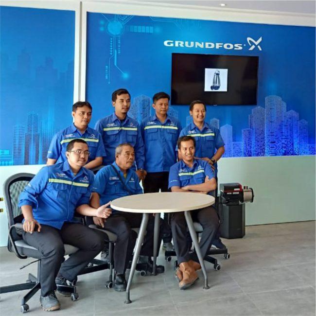 Grundfos Water Pump di Surabaya Jawa Timur Indonesia